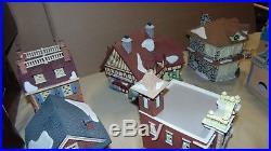 Dept. 56 Christmas In The City Disney Parks Village 10 Piece Collectors Set