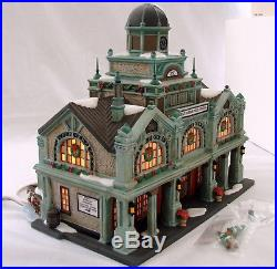Dept 56 Christmas In The City East Harbor Ferry Terminal 56.59254 Collectors LE
