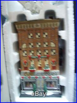 Dept 56 Christmas In The City Ferrara Bakery & Cafe Gently Used! Very Rare