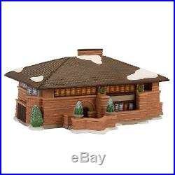 Dept 56 Christmas In The City Frank Lloyd Wright Heurtley House New 2017 4054987