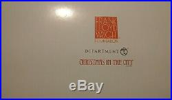 Dept 56 Christmas In The City Frank Lloyd Wright Robie House 2018 Porcelain