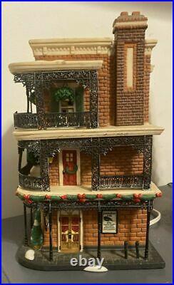 Dept 56 Christmas In The City Jambalaya Cafe