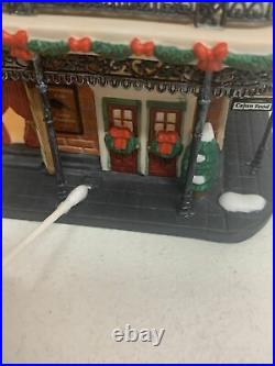 Dept 56 Christmas In The City Jambalaya Cafe Very Rare
