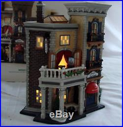 Dept 56 Christmas In The City Jamison Art Centeri 56.59261 Mint Limited Edition