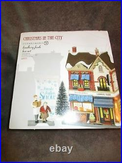 Dept 56, Christmas In The City, Lundberg Foods set # 6000571 NEW