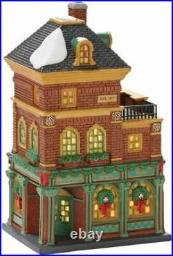 Dept 56 Christmas In The City MURPHY'S IRISH PUB 4025241 DEALER STOCK-NEW IN BOX