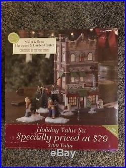 Dept 56 Christmas In The City Miller & Son's Hardware & Garden Center New