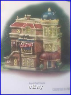 Dept. 56 Christmas In The City ROYAL FLUSH CASINO. 59244