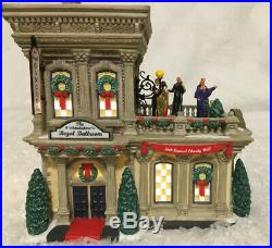 Dept 56 Christmas In The City Regal Ballroom #799942 See Video