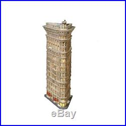 Dept 56 Christmas In The City Snow Village The Flat Iron Building 59260 Retired