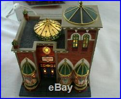 Dept 56 Christmas In The City Sterling Jewelers 58926 Mint Retired 2003