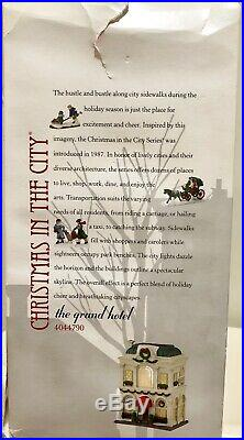 Dept 56 Christmas In The City The Grand Hotel #4044790 + First Star I See New
