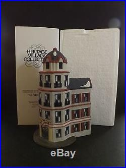 Dept 56 Christmas In The City Tower Restaurant Cafe #65129 New In Box
