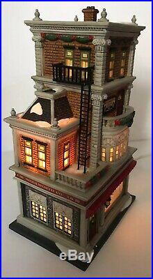 Dept 56 Christmas In The City Village Lighted Build 59249 Woolworth's 2007