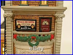 Dept. 56 Christmas In The City Woolworth's #59249 MINT & Rare