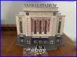 Dept 56 Christmas In The City Yankee Stadium 2009 NIB