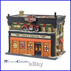 Dept 56 Christmas In the City 4042393 Ottos Harley Tavern Retired