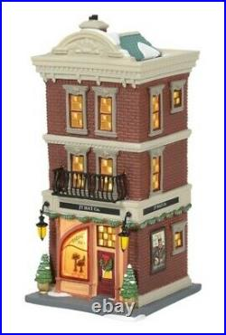 Dept 56 Christmas In the City JT Hat Co. #6005381 BRAND NEW 2020 Free Shipping