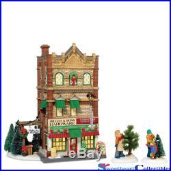 Dept 56 Christmas In the City Miller & Sons Hardware 799994 Retired