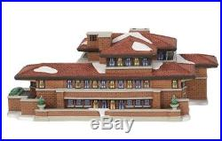 Dept 56 Christmas In the City Robie House Frank Lloyd Wright BRAND NEW 2018