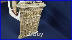 Dept 56 Christmas in The City Flatiron Building Skyscraper 59260 VG Original Box