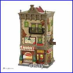 Dept 56 Christmas in the City 4056623 Sal's Pizza & Pasta 2017