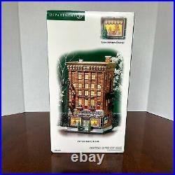 Dept. 56 Christmas in the City 56.59272 Ferrara Bakery & Cafe MINT