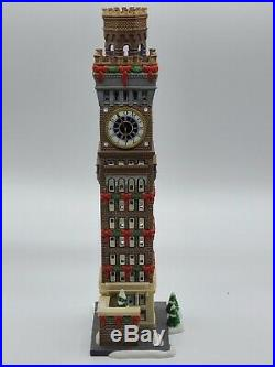 Dept 56 Christmas in the City Baltimore Arts Tower NIB