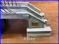 Dept 56, Christmas in the City, Brooklyn Bridge, #59247 Local Pickup Only