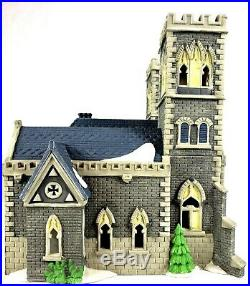 Dept 56 Christmas in the City Cathedral Church of St Mark 55492 Edt #1193/17,500
