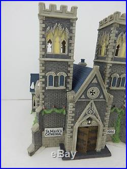Dept 56 Christmas in the City Cathedral Church of St Mark 55492 Edt #2591/17,500