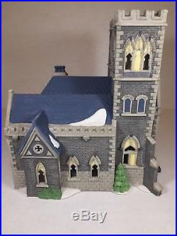 Dept 56 Christmas in the City Cathedral Church of St Mark With Box #55492 #2344