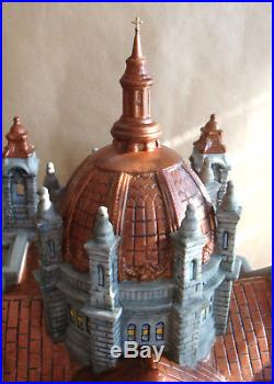 Dept 56 Christmas in the City Cathedral of St. Paul COPPER ROOF NEW IN BOX