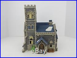 Dept 56 Christmas in the City Catherdral Church of St Mark #55492 Nice #2591