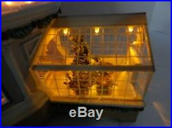 Dept 56 Christmas in the City Crystal Gardens Conservatory #59219 Works Well! 3