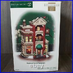 Dept 56 Christmas in the City DOWNTOWN RADIOS & PHONOGRAPHS 56.59259 with Box