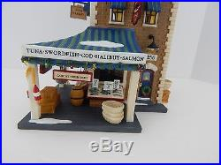 Dept 56 Christmas in the City East Harbor Fish Co. #58946 New D56 CIC