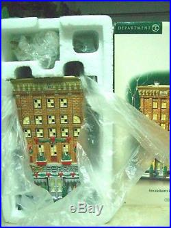 Dept 56 Christmas in the City Ferrara Bakery & Cafe Item #59272 NEW Condition