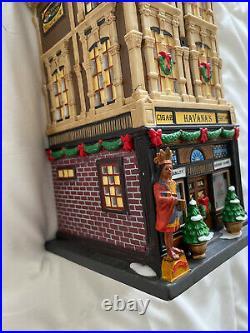 Dept 56 Christmas in the City HAVANA'S CIGAR SHOP Read
