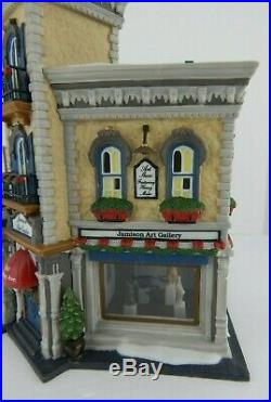 Dept 56 Christmas in the City Jamison Art Center #59261 Never Displayed