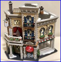 Dept 56 Christmas in the City Jamison Art Center #59261 Numbered Limited Edition