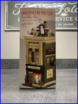 Dept 56 Christmas in the City. Oxford Shoes. New! Rare