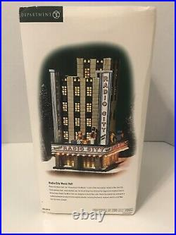 Dept 56-Christmas in the City-Radio City Music Hall #58924 Retired