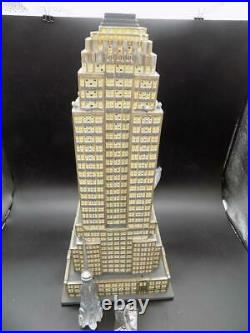 Dept 56 Christmas in the City Series Empire State Building 59207 2003 EUC