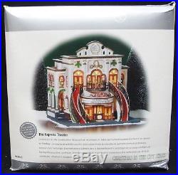 Dept 56 Christmas in the City Series The Majestic Theater 25th Anniversary