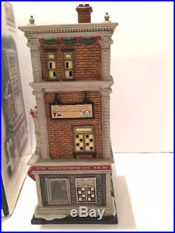 Dept 56 Christmas in the City Series WOOLWORTH'S Building #59249