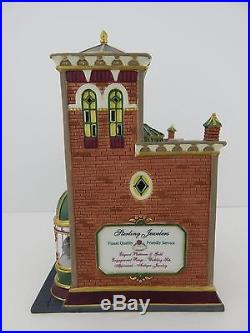 Dept 56 Christmas in the City Sterling Jewelers #58926 Good Condition