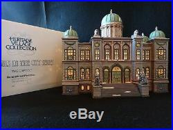 Dept 56 Christmas in the City The Capitol retired 1998