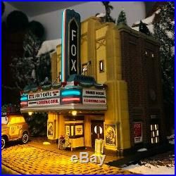 Dept 56, Christmas in the City, The Fox Theatre, #4025242, amazing illumination