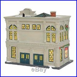 Dept 56 Christmas in the City Village Davidson's Department Store Lit Building
